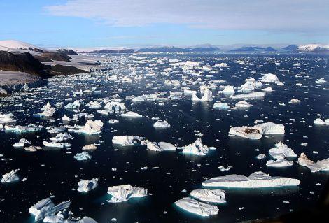 Buzullar erirken...